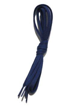 """画像3: SHOE SHIFT """"Narrow Width"""" Cotton Shoelace -made in JAPAN- NAVY (3)"""