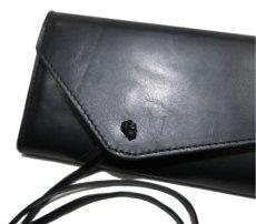"""画像5: """"JUTTA NEUMANN"""" Leather Wallet """"String Wallet""""  color : Black / Brown 長財布 (5)"""