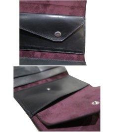 """画像7: """"JUTTA NEUMANN"""" Leather Wallet """"String Wallet""""  color : Black / Brown 長財布 (7)"""