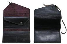 """画像6: """"JUTTA NEUMANN"""" Leather Wallet """"String Wallet""""  color : Black / Brown 長財布 (6)"""