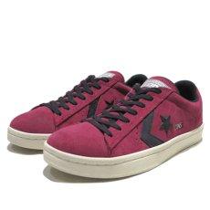 """画像1: NEW CONVERSE """"PRO LEATHER LOW"""" Suede Skate Shoes  -NIKE ルナロンソール- Burgundy/Black size 8.5, 9.5, 10, 12 (1)"""