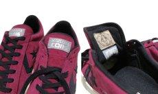"""画像5: NEW CONVERSE """"PRO LEATHER LOW"""" Suede Skate Shoes  -NIKE ルナロンソール- Burgundy/Black size 8.5, 9.5, 10, 12 (5)"""