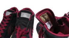 """画像5: NEW CONVERSE """"PRO LEATHER MID"""" Suede Skate Shoes  -NIKE ルナロンソール- Black/Burgundy size 11 (5)"""