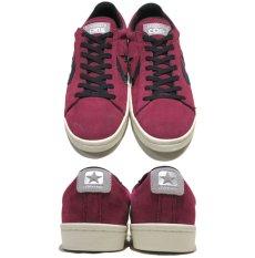 """画像2: NEW CONVERSE """"PRO LEATHER LOW"""" Suede Skate Shoes  -NIKE ルナロンソール- Burgundy/Black size 8.5, 9.5, 10, 12 (2)"""