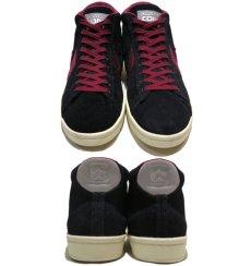 """画像2: NEW CONVERSE """"PRO LEATHER MID"""" Suede Skate Shoes  -NIKE ルナロンソール- Black/Burgundy size 11 (2)"""