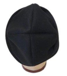 """画像5: Riprap """"MELTON WATCH CAP"""" -made in JAPAN- color : BLACK size : M (59cm) (5)"""