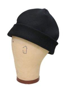 """画像4: Riprap """"MELTON WATCH CAP"""" -made in JAPAN- color : BLACK size : M (59cm) (4)"""