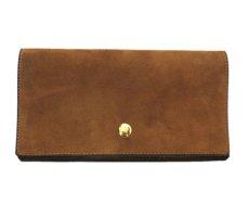 """画像2: """"JUTTA NEUMANN"""" Leather Wallet """"the Waiter's Wallet""""  -Suede-  color : Suede Brown / Orange (2)"""
