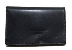 """画像3: """"JUTTA NEUMANN"""" Leather Wallet """"the Waiter's Wallet""""  Medium Size color : Black / Yellow (3)"""