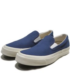 "画像1: NEW Converse ""First String"" DECK STAR  Slip-On Canvas Sneaker NAVY (1)"