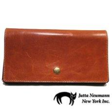 """画像1: """"JUTTA NEUMANN"""" Leather Wallet """"the Waiter's Wallet""""  color : Caramel / Yellow (1)"""