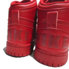 "画像5: NEW NIKE ""Big Nike High"" Leather Sneaker Red size 8.5 (5)"
