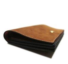 """画像4: """"JUTTA NEUMANN"""" Leather Wallet """"the Waiter's Wallet""""  -Suede-  color : Suede Brown / Orange (4)"""