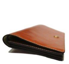 """画像5: """"JUTTA NEUMANN"""" Leather Wallet """"the Waiter's Wallet""""  color : Caramel / Yellow (5)"""
