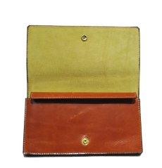 """画像4: """"JUTTA NEUMANN"""" Leather Wallet """"the Waiter's Wallet""""  color : Caramel / Yellow (4)"""