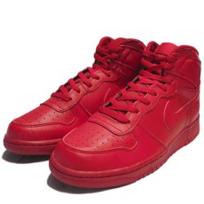 "画像1: NEW NIKE ""Big Nike High"" Leather Sneaker Red size 8.5 (1)"