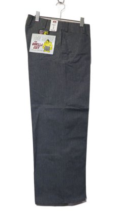 """画像1: BEN DAVIS  """"THE GORILLA CUT"""" Wide Work Pants HEATHER GREY size w 30 / w 32 (1)"""
