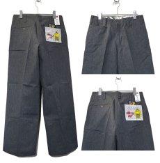"""画像3: BEN DAVIS  """"THE GORILLA CUT"""" Wide Work Pants HEATHER GREY size w 30 / w 32 (3)"""