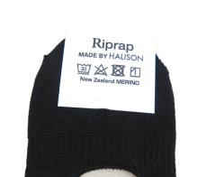 "画像3: Riprap HALISON Nz MERINO ""INVISIBLE SOCKS"" color : BLACK size FREE (25~27cm) (3)"