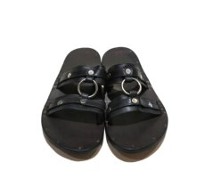 "画像3: JUTTA NEUMANN ""MICHAEL"" Leather Sandal BLACK size 7 D (3)"
