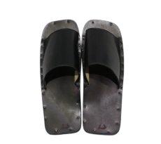 """画像5: JUTTA NEUMANN """"SAM"""" BLACK Leather Sandal size 7 D, 8 D, 9 D, 10 D (5)"""