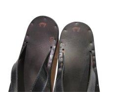 """画像7: JUTTA NEUMANN """"JAMES"""" Leather Sandal BLACK size 7 D, 8 D, 9 D, 10 D (7)"""