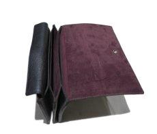 """画像6: """"JUTTA NEUMANN"""" Leather Wallet """"the Waiter's Wallet""""  color : Black / Brown 長財布 (6)"""