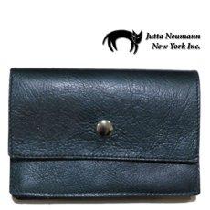 """画像1: """"JUTTA NEUMANN"""" Leather Wallet """"the Waiter's Wallet"""" Medium Size color : Patagonia / Deep Orange (1)"""