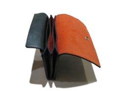 """画像6: """"JUTTA NEUMANN"""" Leather Wallet """"the Waiter's Wallet"""" Medium Size color : Patagonia / Orange (6)"""