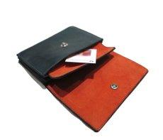 """画像8: """"JUTTA NEUMANN"""" Leather Wallet """"the Waiter's Wallet"""" Medium Size color : Patagonia / Orange (8)"""