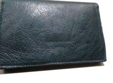 """画像10: """"JUTTA NEUMANN"""" Leather Wallet """"the Waiter's Wallet"""" Medium Size color : Patagonia / Deep Orange (10)"""