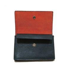 """画像5: """"JUTTA NEUMANN"""" Leather Wallet """"the Waiter's Wallet"""" Medium Size color : Patagonia / Orange (5)"""