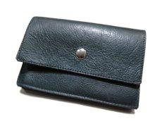 """画像2: """"JUTTA NEUMANN"""" Leather Wallet """"the Waiter's Wallet"""" Medium Size color : Patagonia / Deep Orange (2)"""