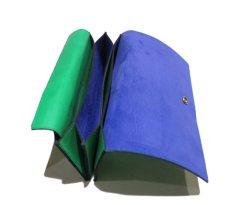 """画像6: """"JUTTA NEUMANN"""" Leather Wallet """"the Waiter's Wallet""""  color : Kelly Green / Violet 長財布 (6)"""