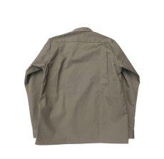 """画像3: Riprap """"STAND UP SEMI OPEN COLLAR SHIRTS""""  color : CEMENT size : SMALL (3)"""