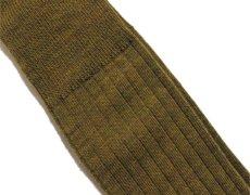 """画像3: Riprap """"NZ MERINO LONG HOSE SOCKS"""" color : DRIED LEAF size FREE (25~27cm) (3)"""