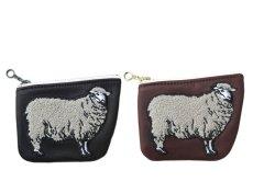 """画像8: Riprap """"SHEEP COIN PURSE"""" color : BROWN size FREE (one size) (8)"""