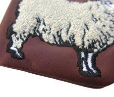 """画像7: Riprap """"SHEEP COIN PURSE"""" color : BROWN size FREE (one size) (7)"""