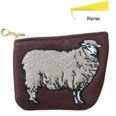 """画像1: Riprap """"SHEEP COIN PURSE"""" color : BROWN size FREE (one size) (1)"""