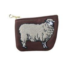 """画像2: Riprap """"SHEEP COIN PURSE"""" color : BROWN size FREE (one size) (2)"""
