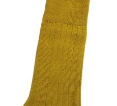 """画像4: decka quality socks """"144N PLAIN SOCKS"""" made in JAPAN ONE SIZE color : YELLOW (4)"""