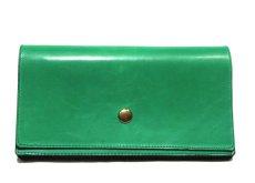 """画像2: """"JUTTA NEUMANN"""" Leather Wallet """"the Waiter's Wallet""""  color : Kelly Green / Olive 長財布 (2)"""