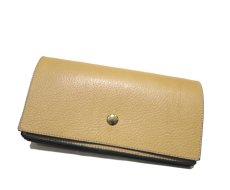"""画像2: """"JUTTA NEUMANN"""" Leather Wallet """"the Waiter's Wallet""""  color : Camel Shine / Lavender 長財布 (2)"""