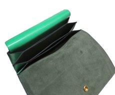 """画像7: """"JUTTA NEUMANN"""" Leather Wallet """"the Waiter's Wallet""""  color : Kelly Green / Olive 長財布 (7)"""