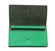 """画像5: """"JUTTA NEUMANN"""" Leather Wallet """"the Waiter's Wallet""""  color : Kelly Green / Olive 長財布 (5)"""