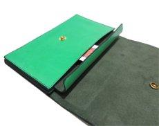 """画像8: """"JUTTA NEUMANN"""" Leather Wallet """"the Waiter's Wallet""""  color : Kelly Green / Olive 長財布 (8)"""