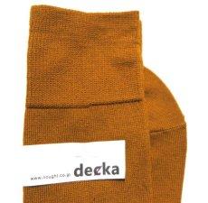 """画像4: decka quality socks """"PLAIN MERCERIZATION SOCKS"""" made in JAPAN ONE SIZE color : GOLD (4)"""