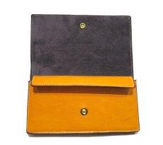 """画像5: """"JUTTA NEUMANN"""" Leather Wallet """"the Waiter's Wallet""""  color : Mustard / Grey 長財布 (5)"""