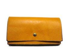 """画像2: """"JUTTA NEUMANN"""" Leather Wallet """"the Waiter's Wallet""""  color : Mustard / Grey 長財布 (2)"""