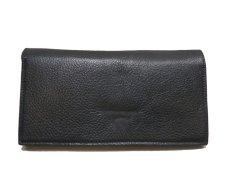 """画像3: """"JUTTA NEUMANN"""" Leather Wallet """"the Waiter's Wallet""""  color : Black / Magenta 長財布 (3)"""